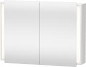 Duravit Ketho - Spiegelschrank 180x1000x750mm 2 Spiegeltüren betongrau matt