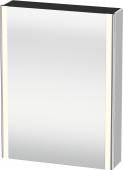 Duravit XSquare - SPS mit Beleuchtung 800x600x155 weiß seidenmatt Türanschlag links