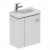 Ideal Standard Connect Space - Waschtischunterschrank Ablage links weiß hochglanz