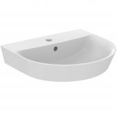 Ideal Standard Connect Air - Waschtisch 1 Hahnloch mit Überlauf 500 x 450 x 160 mm weiß