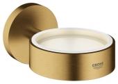 Grohe Essentials - Halter für Becher Seifenschale / Seifenspender cool sunrise gebürstet