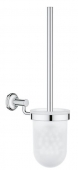 Grohe Essentials Authentic - Toilettenbürstengarnitur chrom
