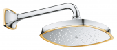 Grohe Grandera - Rainshower Grandera Brausearm 286 mm chrom / gold 1