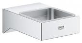 Grohe Selection Cube - Halter für Glas / Seifenschale / Seifenspender chrom