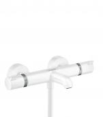 Hansgrohe Ecostat Comfort - Thermostat Wanne Aufputz DN15 weiß matt
