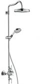 Hansgrohe Axor Montreux - Showerpipe chrom mit Thermostat und Hebelgriff
