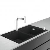 Hansgrohe C51 - Select 200 Spülencombi 770 F770-10 chrom