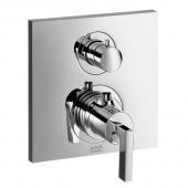Hansgrohe Axor Citterio - Thermostat Unterputz mit Ab- und Umstellventil und Hebelgriff