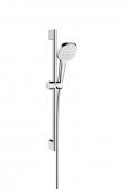 Hansgrohe Croma Select E - 1jet Shower Set 0,65 m weiß / chrom