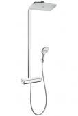 Hansgrohe Raindance Select E 360 - 1jet Showerpipe EcoSmart chrom