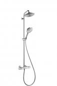 Hansgrohe Raindance Select S - 240 1jet Showerpipe DN15 mit EcoSmart chrom