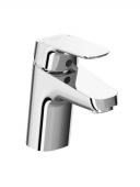Ideal Standard Ceraflex - Waschtischarmatur Niederdruck mit Ablaufgarnitur 101 mm chrom
