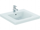 Ideal Standard CONNECT FREEDOM - Washbasin 600x555mm with 1 tap hole with overflow white without IdealPlus