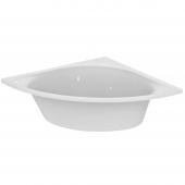 Ideal Standard Tonic II - Eck-Badewanne mit Ablauf 1400 x 1400 x 480 mm weiß