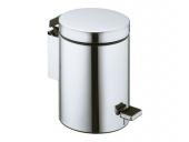 Keuco Plan - Sanitary waste bin chrome-plated