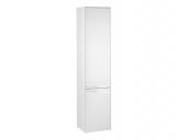 Keuco Royal 60 - Tall cabinet 32131, door hinge right, 2-door, white gloss