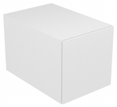 Keuco Edition 11 - Unterbauschrank Frontauszug weiß / Glas weiß