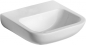 Ideal Standard Contour - Hand-rinse basin 500x420mm without tap holes without overflow white without IdealPlus