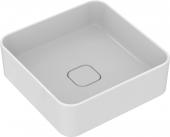 Ideal Standard Strada II - Aufsatzwaschtisch ohne Hahnloch ohne Überlauf 400 x 400 x 180 mm weiß