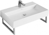 Villeroy & Boch Memento - Washbasin 600x420 white with CeramicPlus