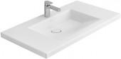 Villeroy & Boch METRIC ART - Washbasin for Furniture 1000x550 star white with CeramicPlus