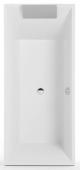 Villeroy & Boch Squaro - Badewanne Rechteck 1800 x 800 mm weiß alpin