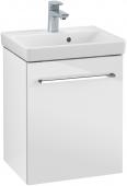 Villeroy & Boch Avento - Waschtischunterschrank 430 x 514 x 352 mm Anschlag links crystal white