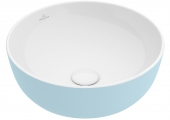 Villeroy & Boch Artis - Aufsatzwaschtisch 430 mm rund fog