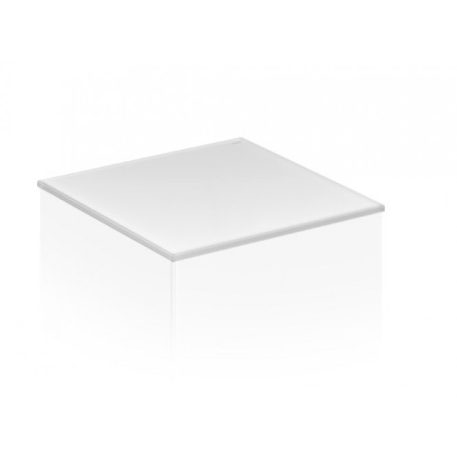 Keuco Edition 11 - Cover 31320, Cristalli glass 350x3x524 mm, truffle