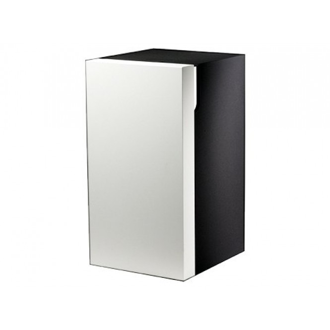 Keuco Edition 300 - Base unit with 1 door & hinges left 350x650x385mm white/sahara
