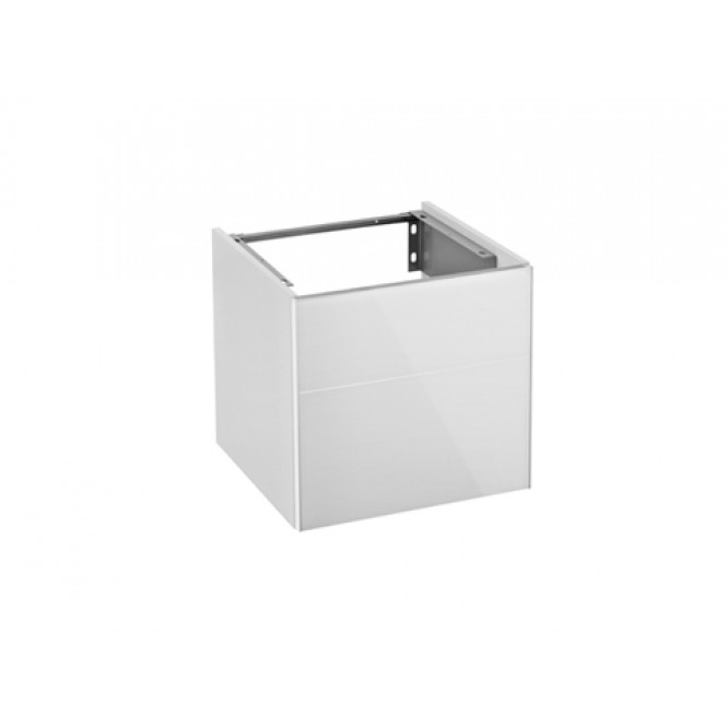 Keuco Royal Reflex - Wastafelonderbouw with 1 door & hinges left 496x450x487mm magnolia/magnolia