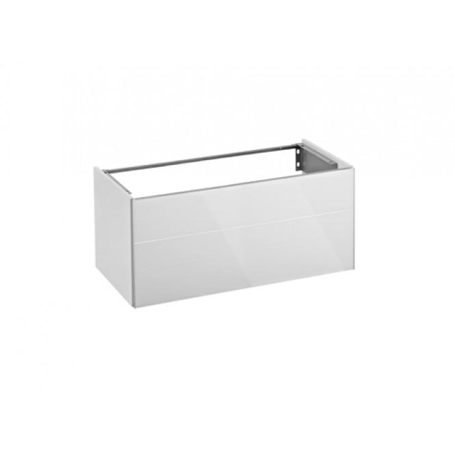 Keuco Royal Reflex - Wastafelonderbouw with 1 drawer 996x450x487mm white/white