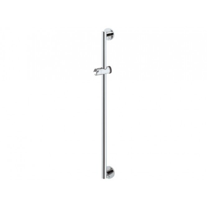 Keuco Plan Care - Shower Rail 1182mm silver anodised / chrome