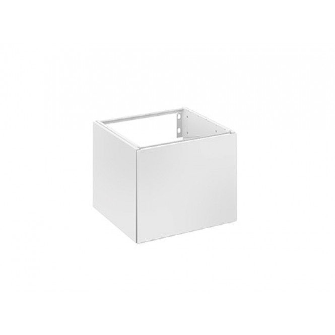 Keuco Edition 11 - Wastafelonderbouw with 1 door & hinges right 435x350x435mm white/silk matt white