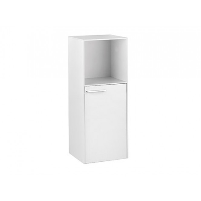 Keuco Royal 60 - Central Cupboard with 1 door & 1 open compartment & hinges right 400x1030x400mm cashmere matt/cashmere matt