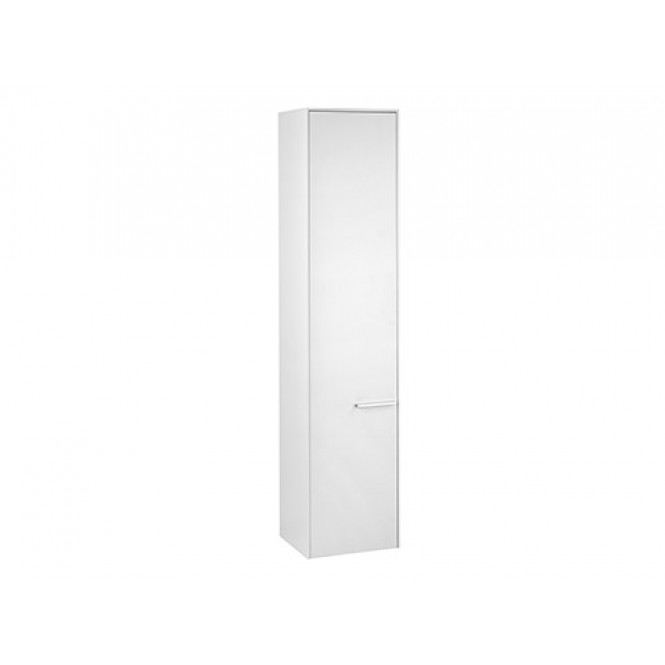 Keuco Royal 60 - Tall Carbinets with 1 door & hinges left 400x181x400mm white matt/white matt
