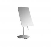Emco Universal - Rasier- und Kosmetikspiegel Standmodell 3-fach eckig 140x215 mm chrom