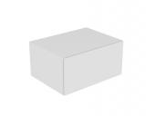 Keuco Edition 11 - Sideboard Beleuchtung 1 Frontauszug weiß / Glas weiß satiniert