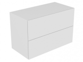 Keuco Edition 11 - Sideboard 1050 with LED interior lighting anthracite