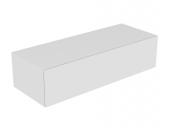 Keuco Edition 11 - Sideboard 1 Frontauszug weiß / Glas weiß satiniert