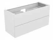 Keuco Edition 11 - Vanity unit 1400 with LED interior lighting anthracite