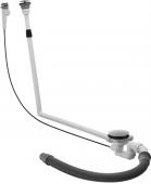 Duravit Blue Moon - Mehrpreis für Ab- und Überlaufgarnitur mit Bodenzulauf 1400x1400mm chrom