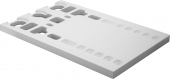 Duravit Stonetto / P3 Comforts - Wannenträger