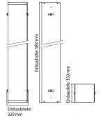 Emco Asis - Mounting frame