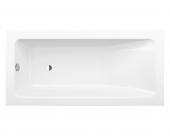 Bette BetteOne Relax Highline - Rechteck-Badewanne CFXXH xx450 mm weiß - 1900 x 900 mm