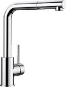 Blanco Mila-S - Küchenarmatur metallische Oberfläche Hochdruck chrom