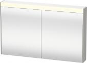 Duravit Brioso - Spiegelschrank mit Beleuchtung 760x1020x148mm graphit matt