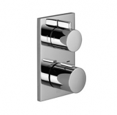 Dornbracht - Unterputz-Thermostat mit Zweiwege-Mengenregulierung Bausatz-Endmontage