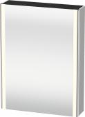 Duravit XSquare - SPS mit Beleuchtung 800x600x155 nordic weiß Türanschlag links