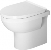 Duravit DuraStyle Basic - Stand-WC Basic 560mm rimless Tiefspüler Abgang waagrecht WonderGliss weiß
